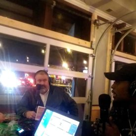 Live from Jennifer Hammond Charity Event with Tahir Whitehead